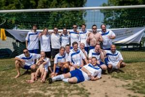 Die Teilnehmer der Schoppekicker Fulda in Dipperz